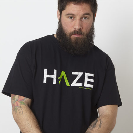 camiseta haze frontal tshirt t-shirt