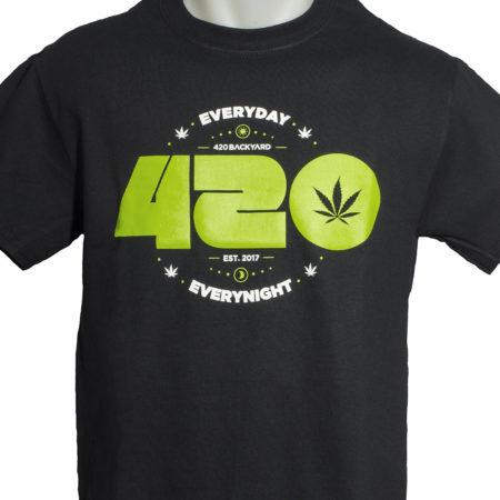 camiseta 420 weed ganja marijuana shirt
