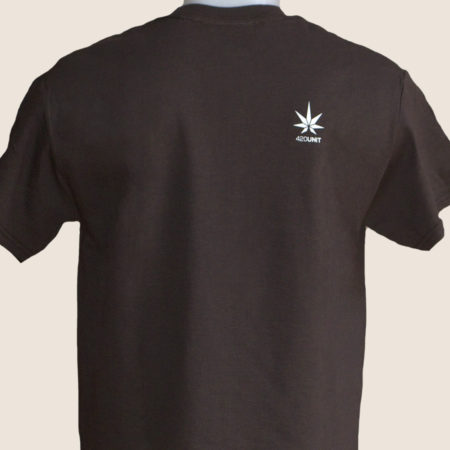sativa icons brown tshirt t-shirt marijuana 420 front