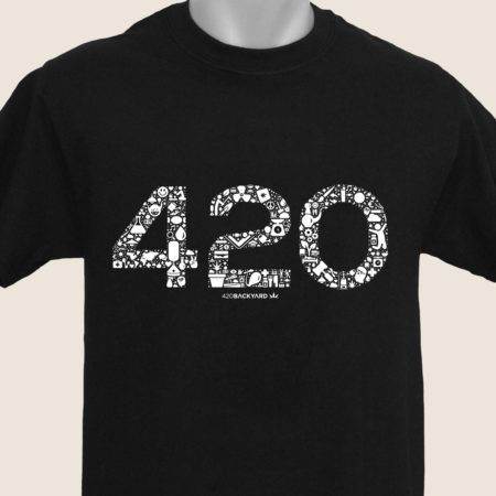 420 icons blue marijuana marihuana t-shirt camiseta